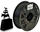 JANBEX Pla Filament 1.75 mm   1kg Spule in Schwarz   für 3D Drucker oder Stift   3D-Drucker...