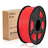 SUNLU 3D Printer Filament PLA Plus, 1.75mm PLA Filament, 3D Printing Filament Low Odor, Dimensional...