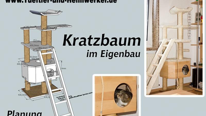 Stabilen Katzen Kratzbaum bauen
