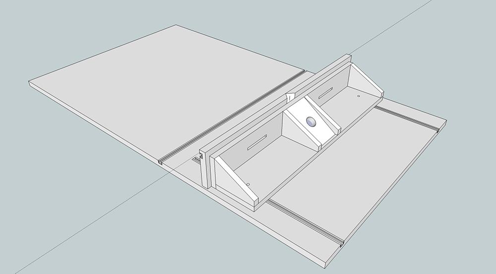parallel fr sanschlag f r werktisch selber bauentueftler und. Black Bedroom Furniture Sets. Home Design Ideas