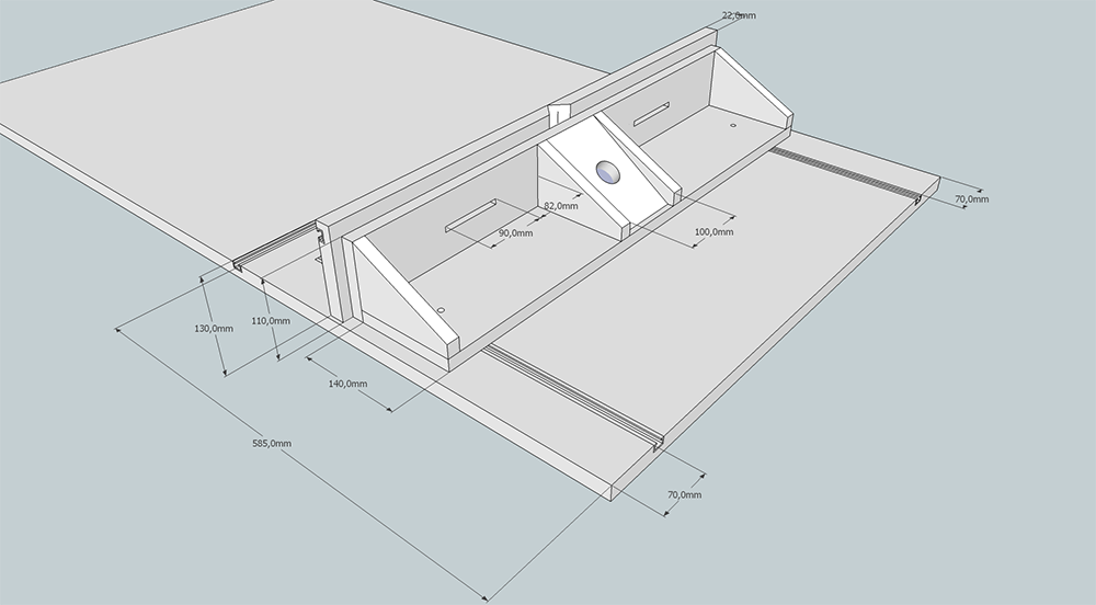 parallel fr sanschlag f r werktisch selber bauentueftler. Black Bedroom Furniture Sets. Home Design Ideas
