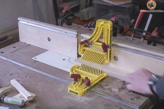 Parallel-Fräsanschlag für Werktisch