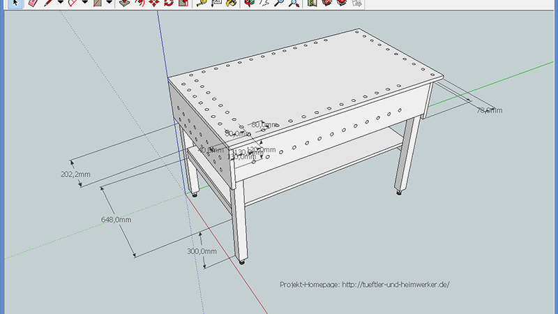 Werktisch / Sägetisch bauen