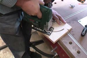Winkelanschlag für Werktisch bauen