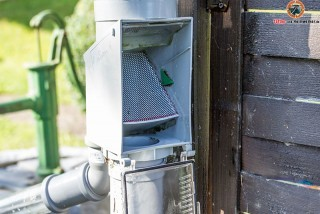 Regenwasser Fallrohrfilter verbessern