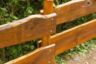 Holzzaun selber bauen – Rancherzaun