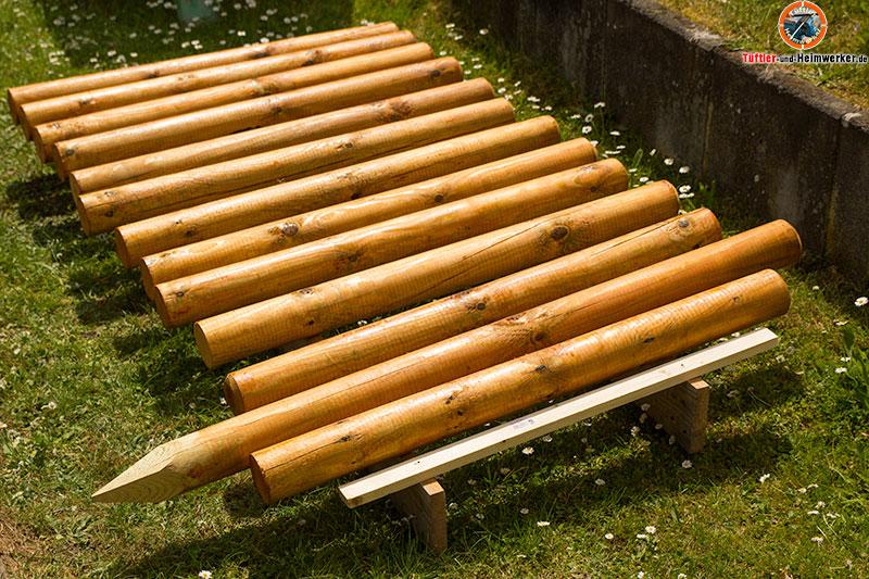 Holzzaun oder gartenzaun selber bauen   der rancherzaun