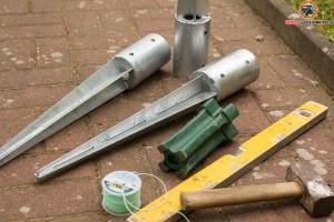 Einschlaghülsen und Werkzeug
