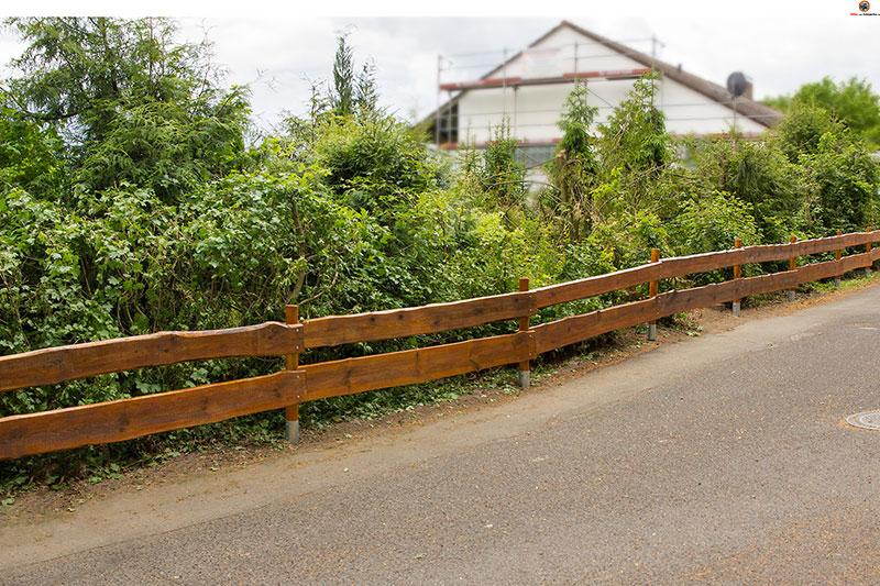 Holzzaun Oder Gartenzaun Selber Bauen - Der Rancherzaun Sichtschutzzaun Aus Kunststoff Gute Alternative Holzzaun