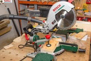 Test Bosch PCM 8 S Home and Garden Kapp- und Gehrungssäge