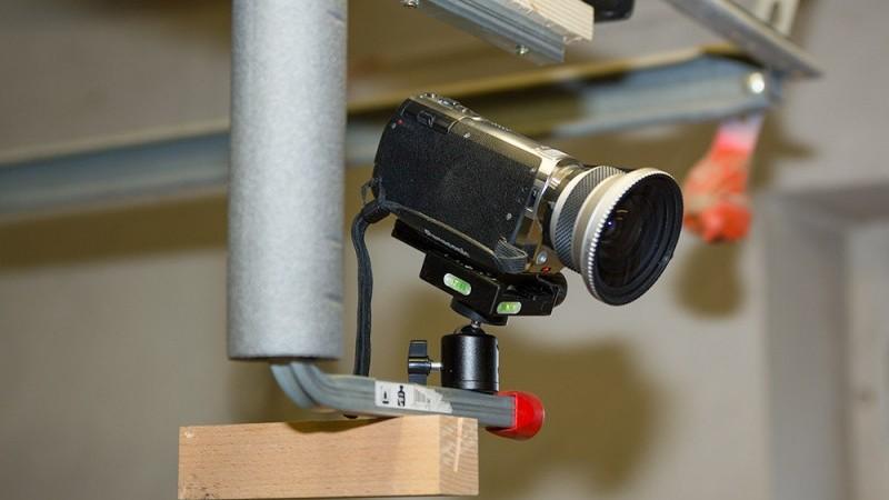 Camcorder-Schiene für Heimwerker-Video