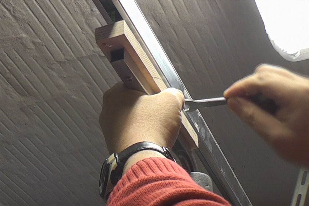Kameraschiene-Schiebetuerschiene-Heimwerker-Videoaufnahmen-UHalter-montieren