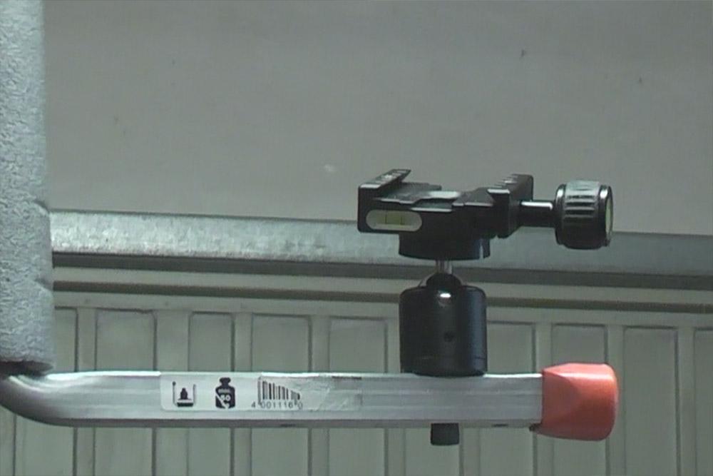 Kameraschiene-Schiebetuerschiene-Heimwerker-Videoaufnahmen-Wechselplatte-montiert