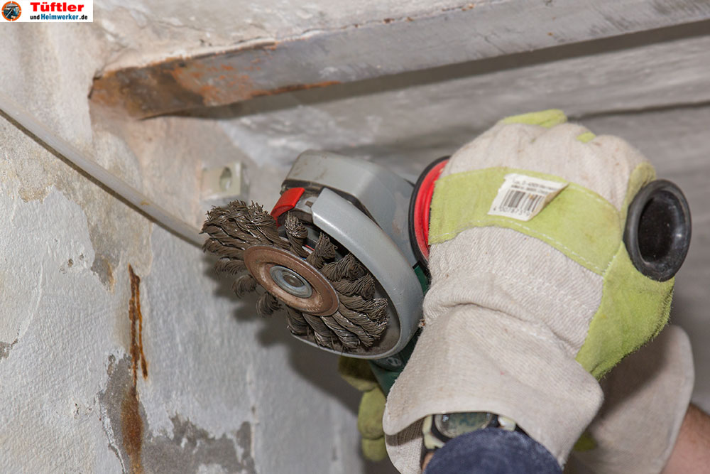 Stahlträger Grundieren korrosionsschutz und rostschutzfarbentueftler und heimwerker de