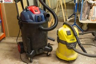 Nass-/Trockensauger für die Werkstatt im Test
