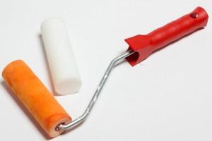 Pinsel-Heimwerker-Renovieren-Schaumstoffrolle