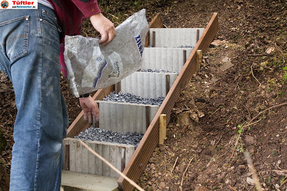 Außentreppen und Gartentreppen selber bauen - DIY
