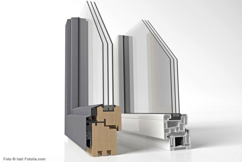Aufbau eines Kunststofffensters