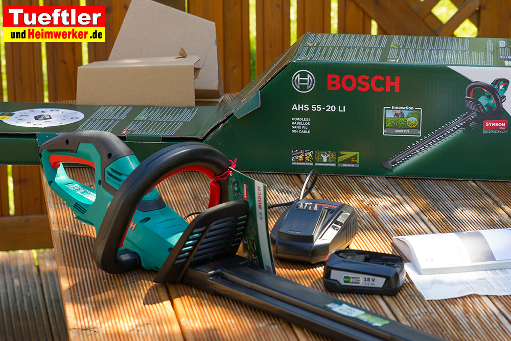 Akku-Heckenschere-Vergleich-Bosch-ahs55-20li-tisch