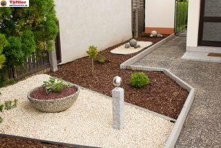 Gartendeko: Granitsäule selbst  gemacht