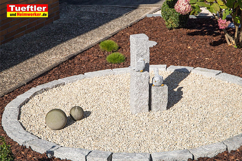 gartendeko granits ule und beton deko selbst gemachttueftler und. Black Bedroom Furniture Sets. Home Design Ideas