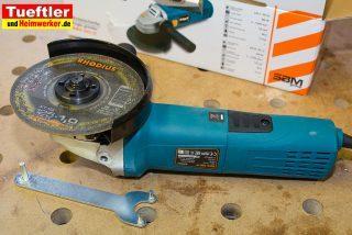 Praxistest BWS-905 Winkelschleifer mit Drehzahlregulierung