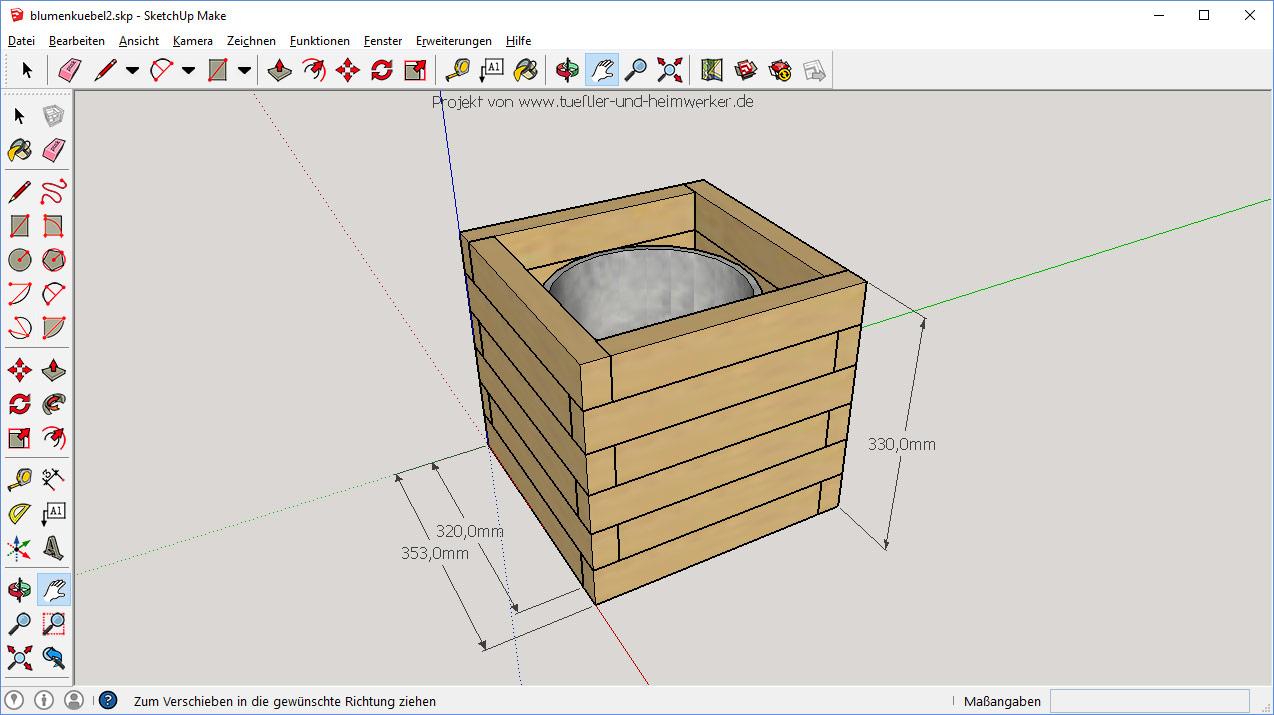 DIY: Blumenkübel / Pflanzkübel schnell selbst gebautTueftler-und ...