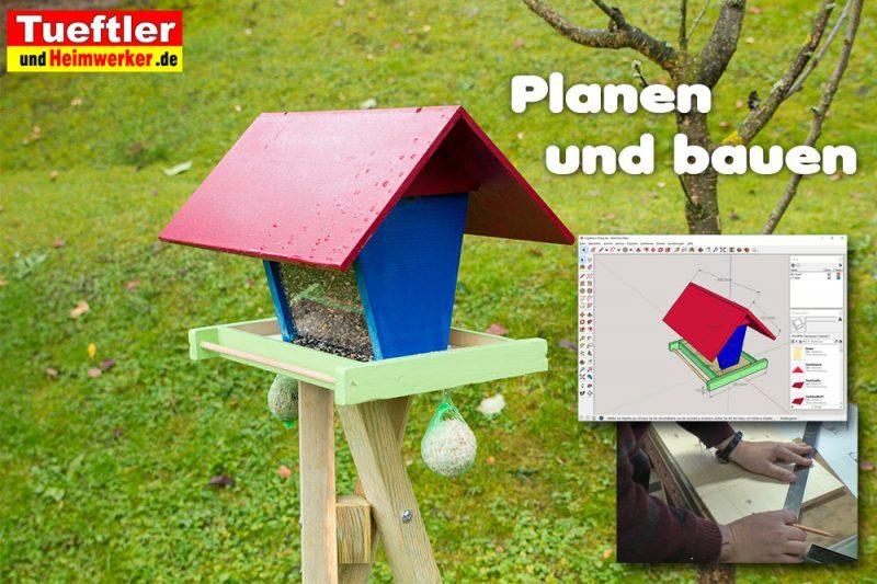 vogelfutterhaus selber bauen bauanleitung f r futterh uschen. Black Bedroom Furniture Sets. Home Design Ideas