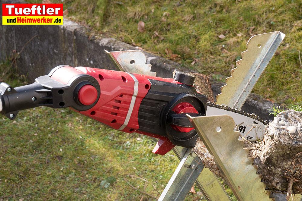 Akku hochentaster test einhell ge hc 18 li ttueftler und heimwerker.de