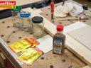 Holz beizen, mit Pulverbeize schnell gemacht