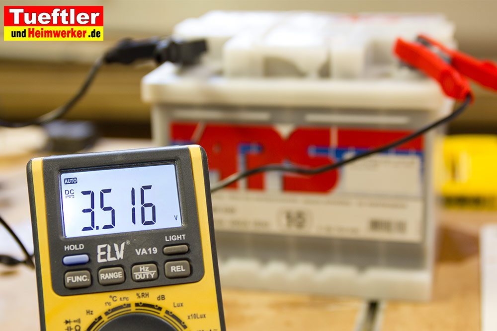 Tiefentladene-Batterie