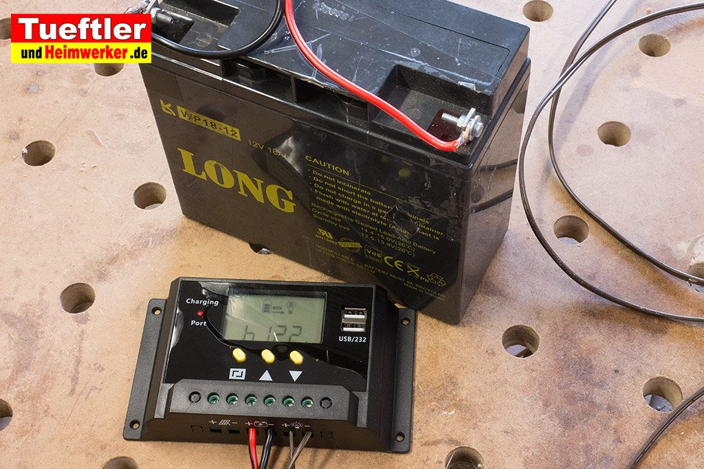 DIY-Solarmodul-Ueberwachungskamera-Laderegler-Bleigel-Akku-7