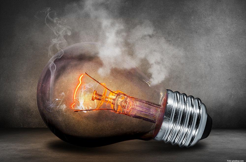 Gluelampe-heizung