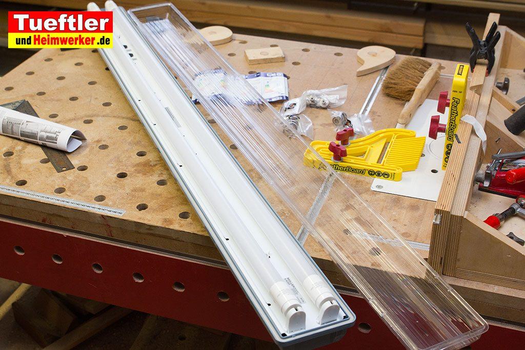 Heimwerker-Keller-Led-Lampe-ausgepackt