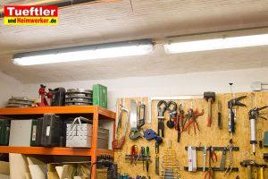 Heimwerker-Keller-Led-Lampe-montiert