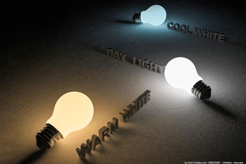 Lichtfarbe-Kelvin-Farbtemperatur