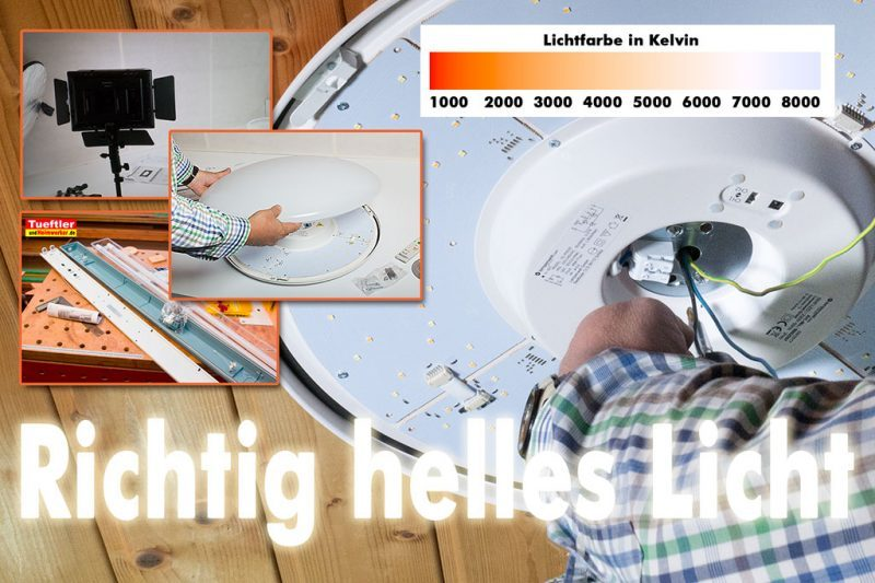 Titel LED Licht Lumen Watt Farbtemperatur 2