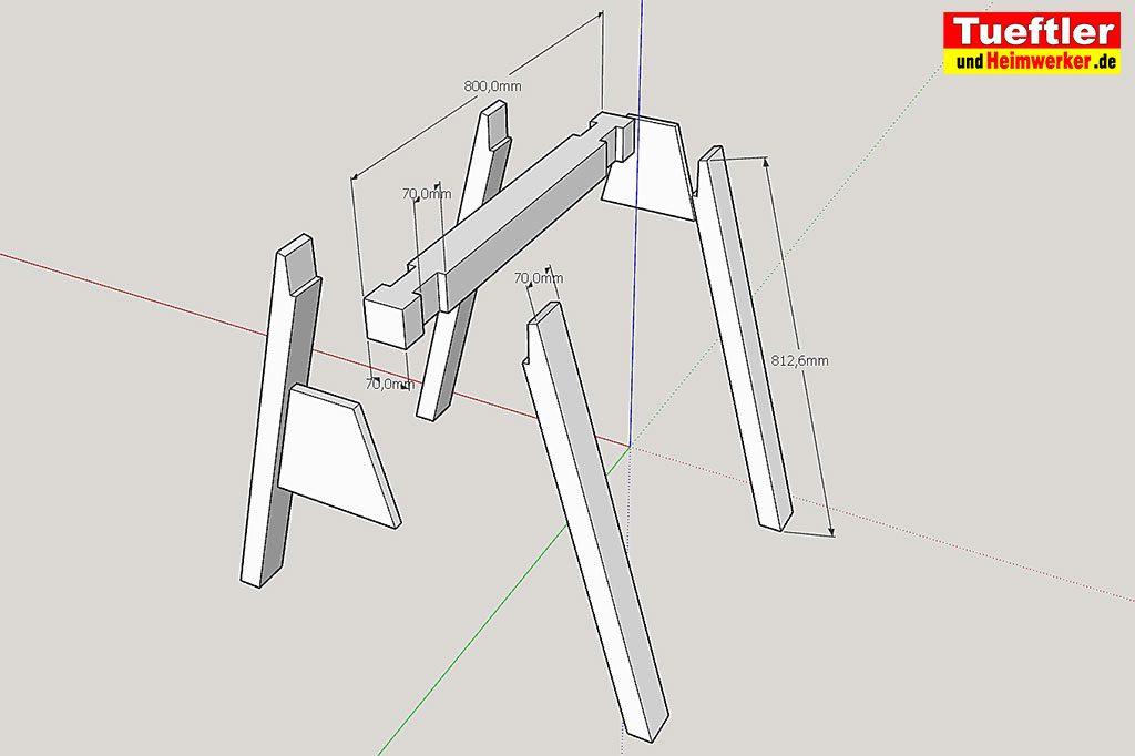 Holzbock-selber-bauen-Explosionszeichnung