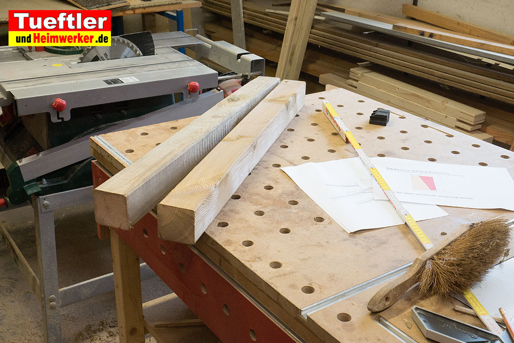 holzbock selber bauen kantholz saegen 1b tueftler und. Black Bedroom Furniture Sets. Home Design Ideas