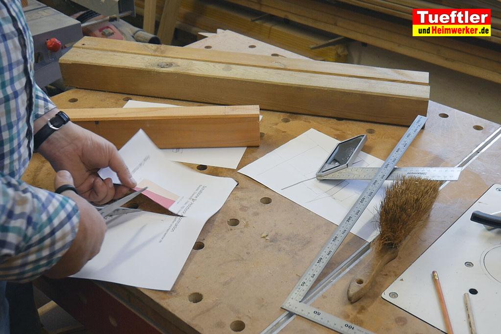 holzbock selber bauen schablone ausschneiden 5 tueftler und. Black Bedroom Furniture Sets. Home Design Ideas