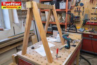 Arbeitsbock schnell und stabil gebaut