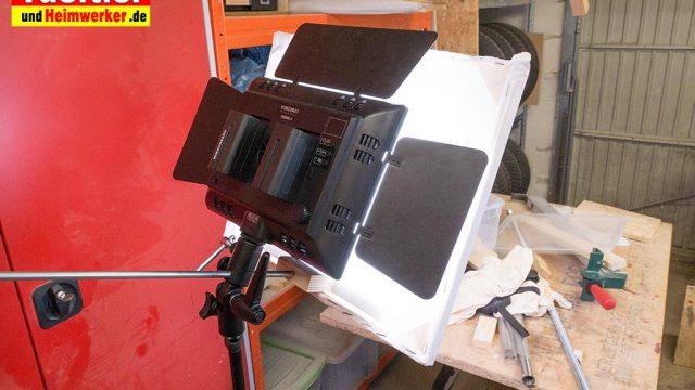 Weiches Licht – Diffusor für LED Lampe bauen