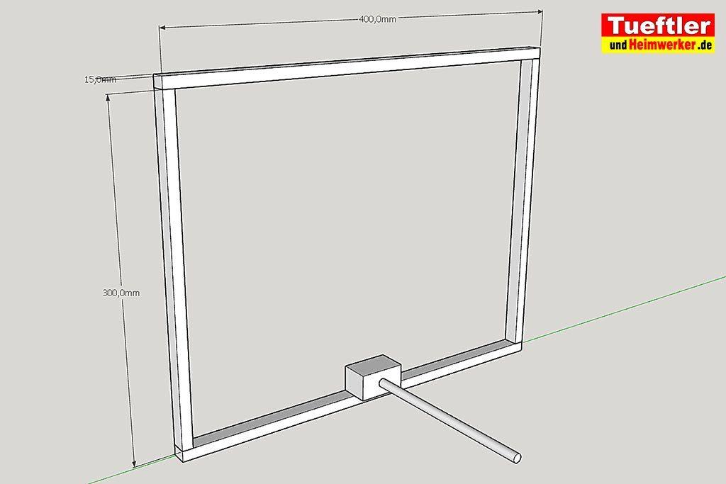 Led-Videoleuchte-Diffusor-Sketchup