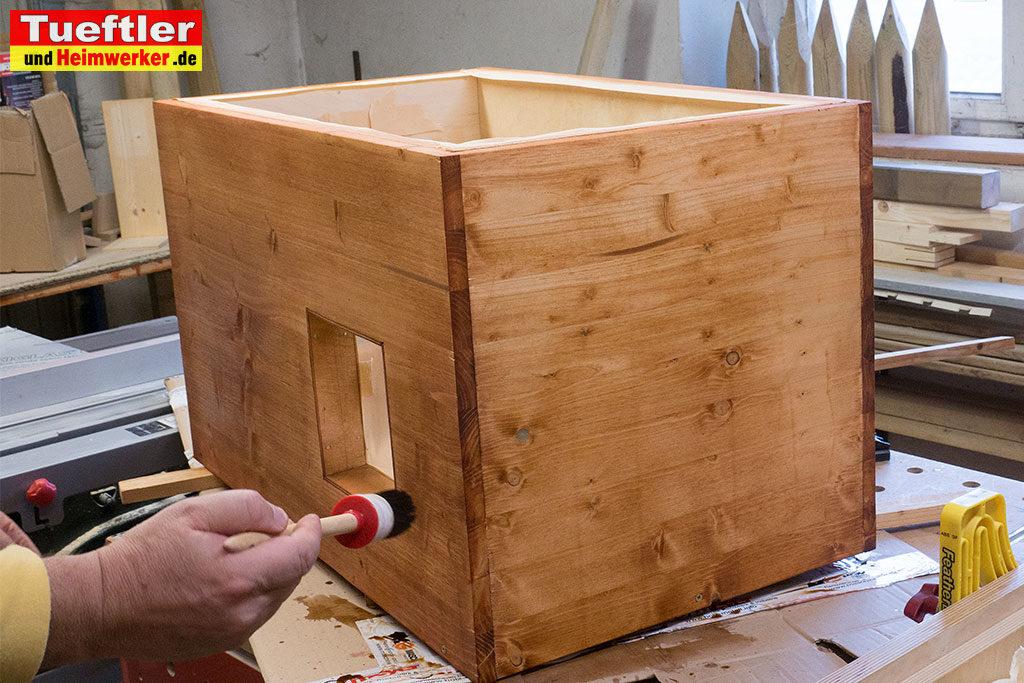 Katzenhaus-DIY-Projekt-Sketchup-Beizen
