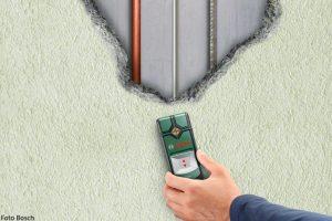 Truvo-Bosch-Ortungsgeraet-Leitungen-Stromleitung-Wasserleitung