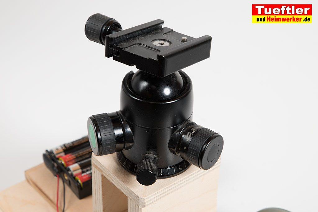 Kamera-Dolly-Kamerawagen-motorantrieb-Stativkopf-Wechselplatte