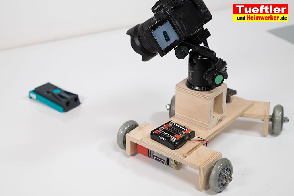 kamera dolly mit motor selber bauentueftler und. Black Bedroom Furniture Sets. Home Design Ideas