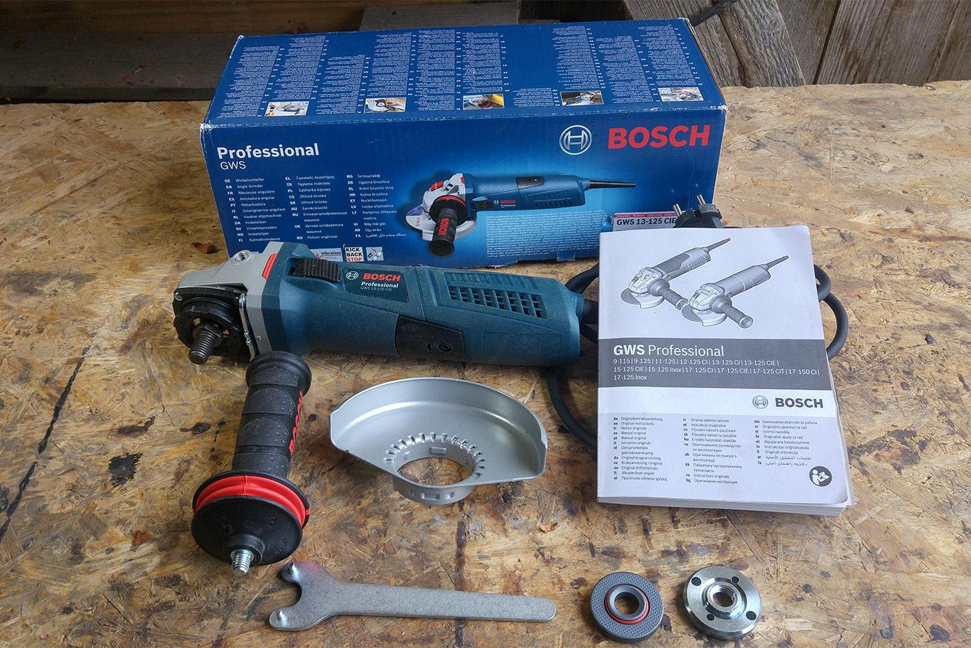 Test Winkelschleifer Bosch Professional Gws 13 125 Cietueftler Und