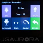 JGAURORA-A5-3D-Drucker-Test-Display-Extrusion