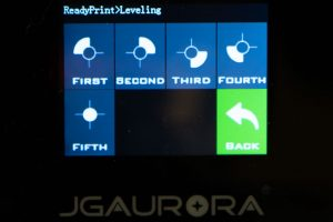 JGAURORA-A5-3D-Drucker-Test-Display-Leveling